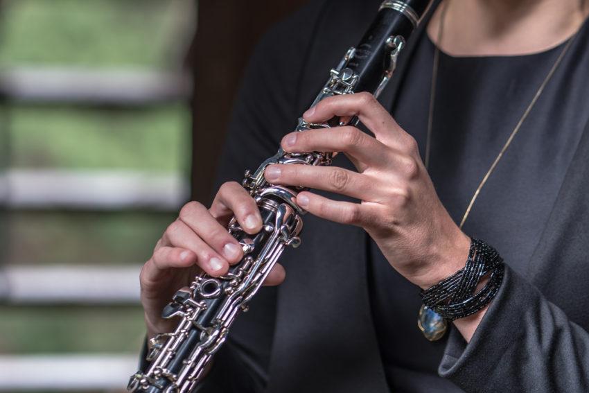 Klarinettistin Musikerin Melina Paetzold