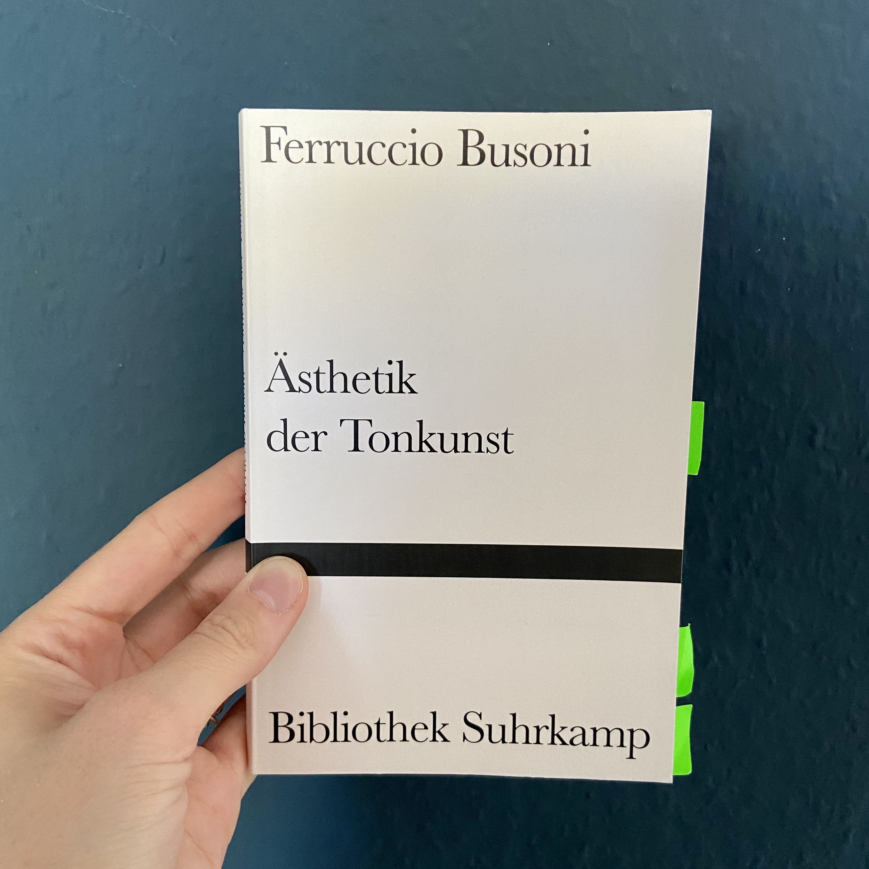 ästhetik der tonkunst-busoni-buch