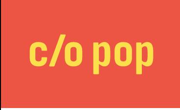 Logo c/o pop