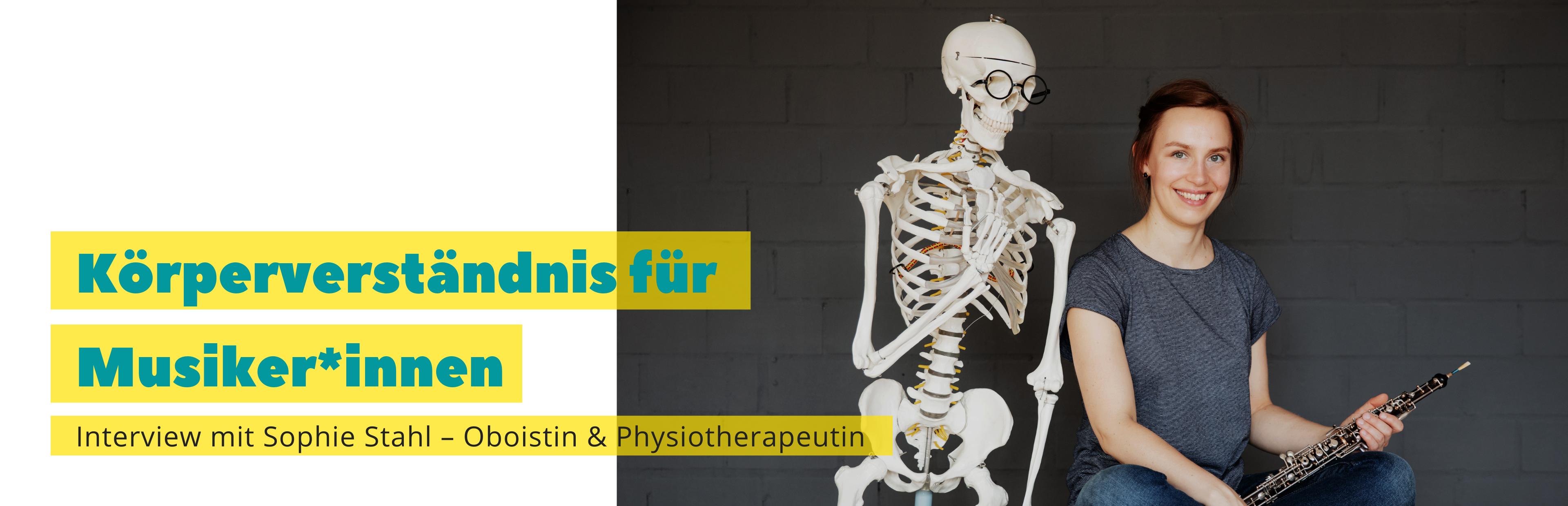 Oboistin Physiotherapeutin Sophie Stahl