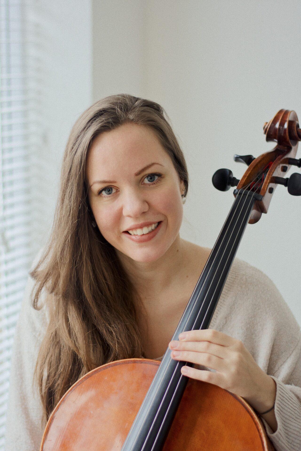 Cellistin Marleen Hiemsch